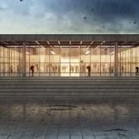 The Neue NationalGalerie Berlin