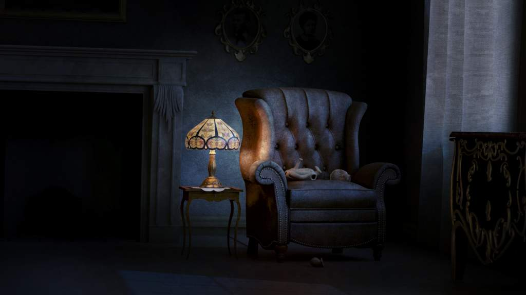 Interieur scary