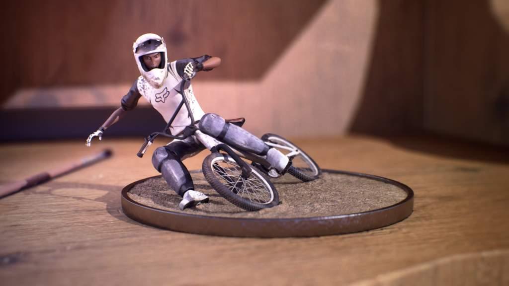 Biker Miniature