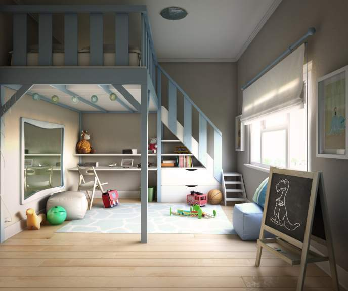 Kid's room 3