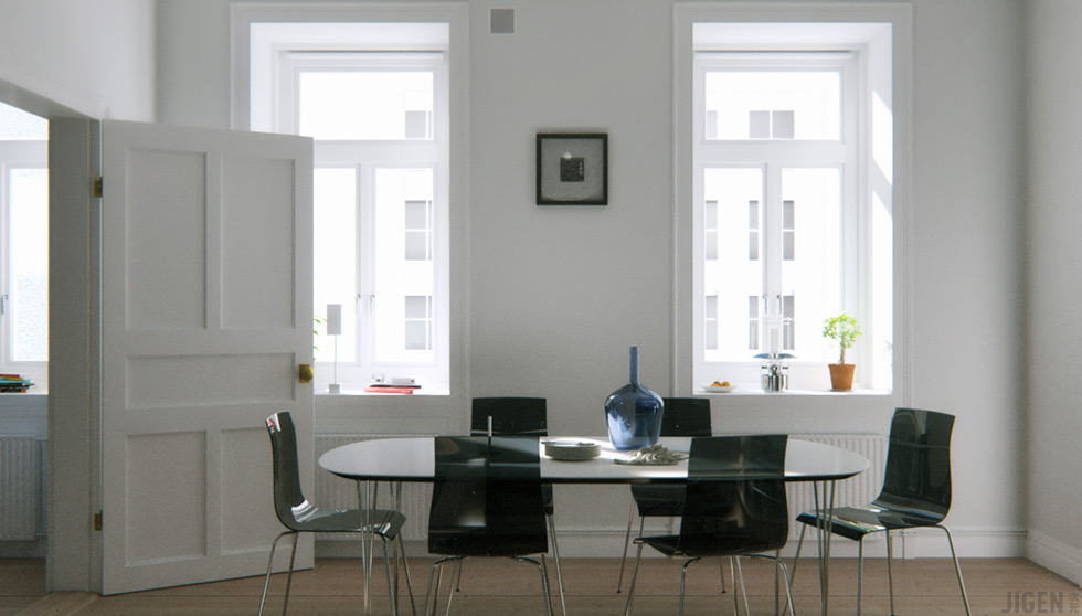 Swedish Apartment - Table à Manger