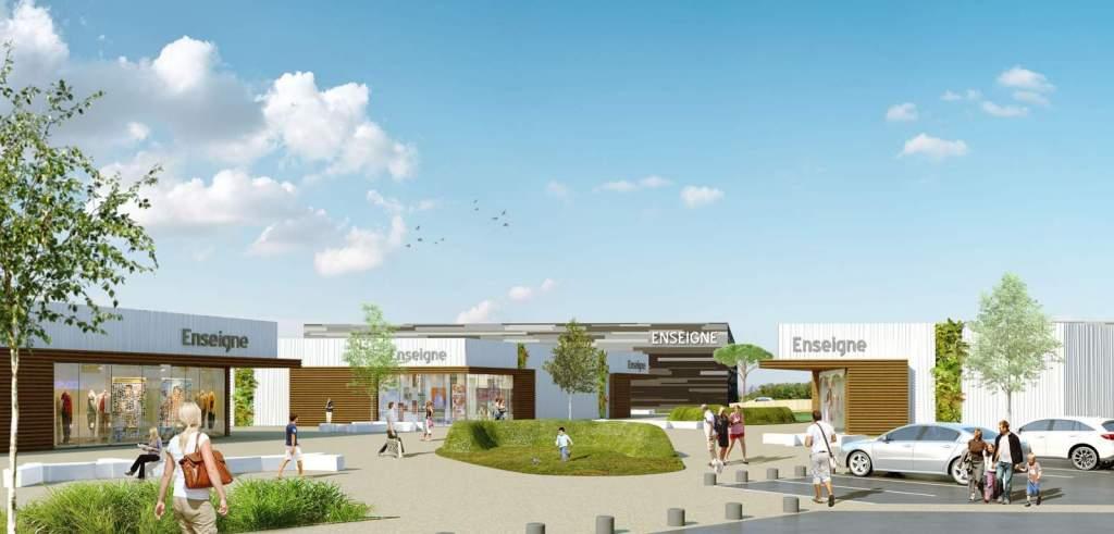 Centre commercial à Rennes
