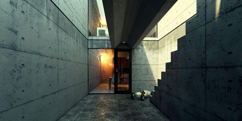Azuma house Tadao Ando
