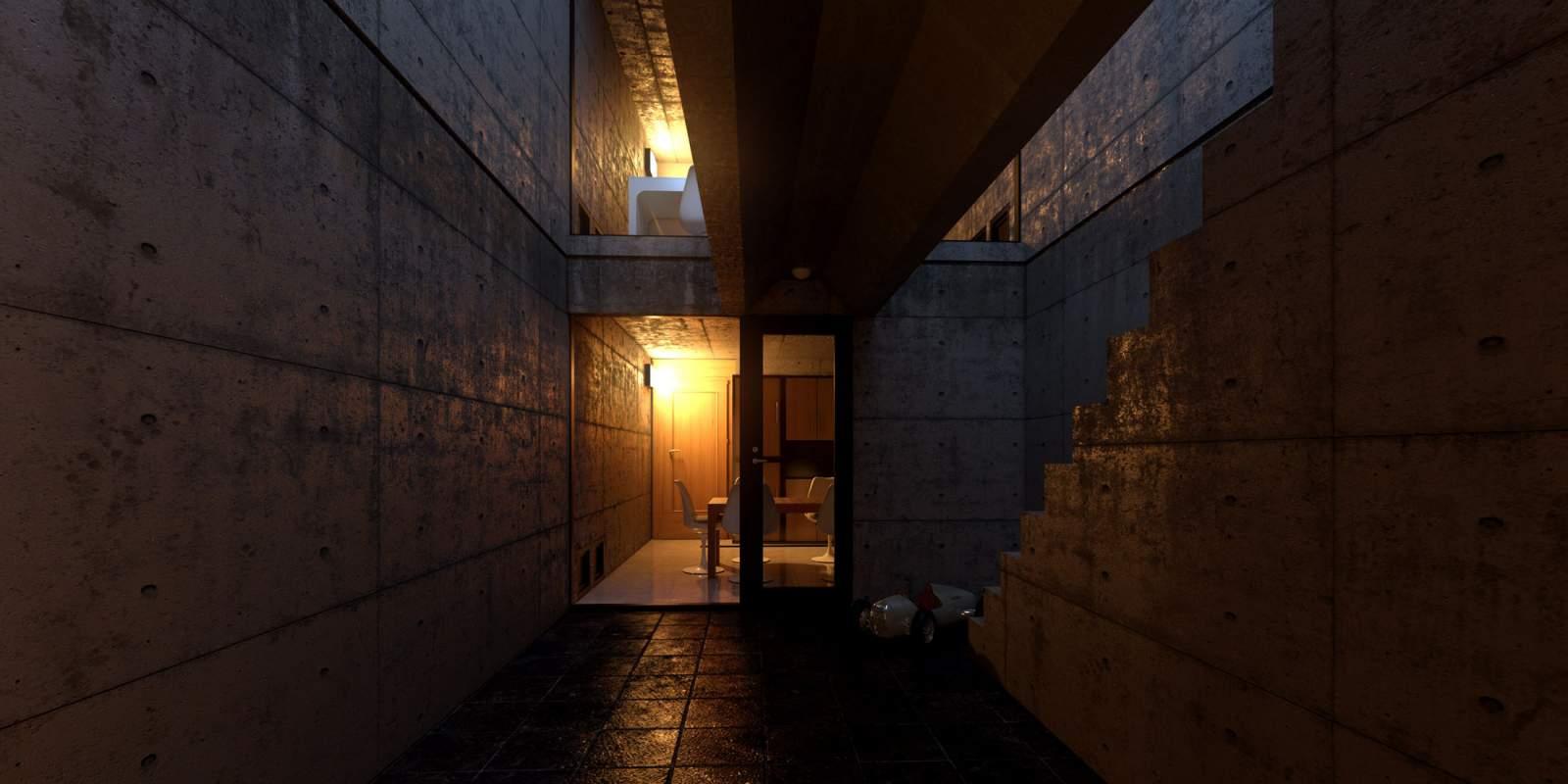 Azuma house Tadao Ando6