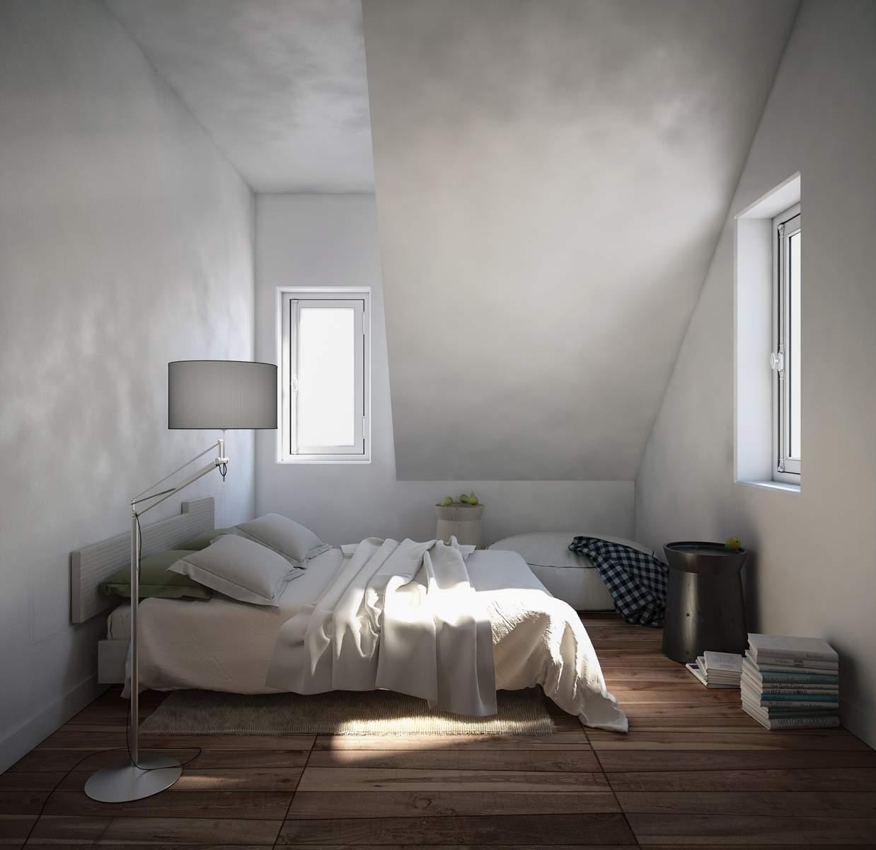 Chambre sous les toits #1