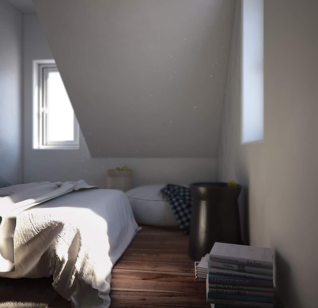 Chambre sous les toits #2