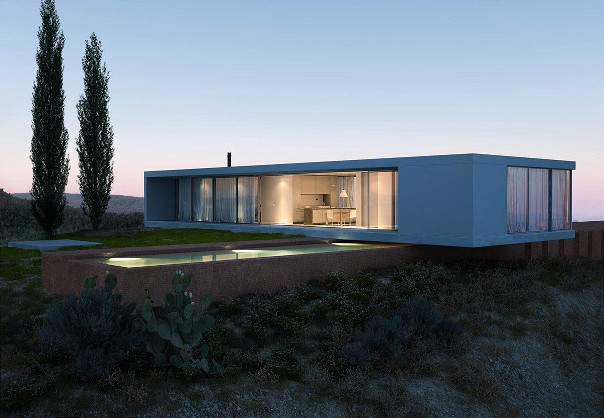 Villa minimaliste