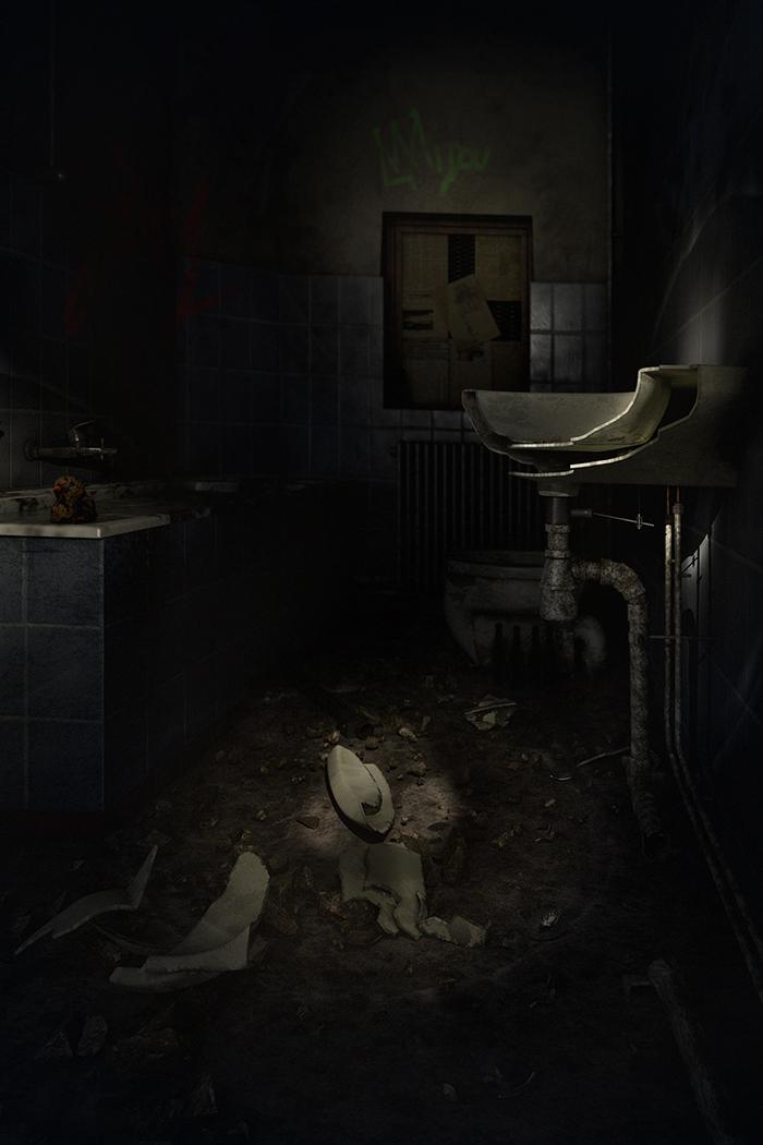 Salle de bain urbex