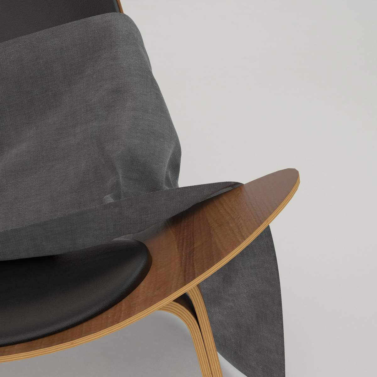 Fabric cloth chair
