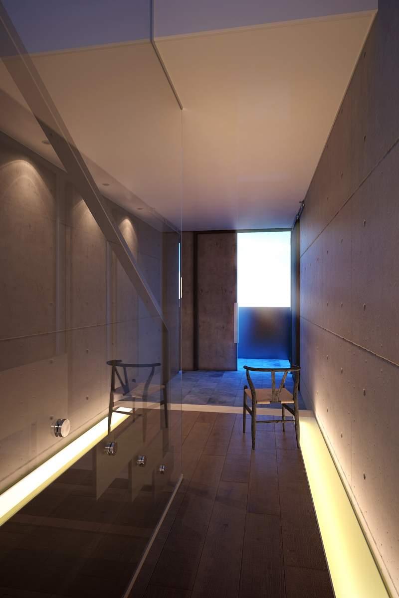 Warm corridor