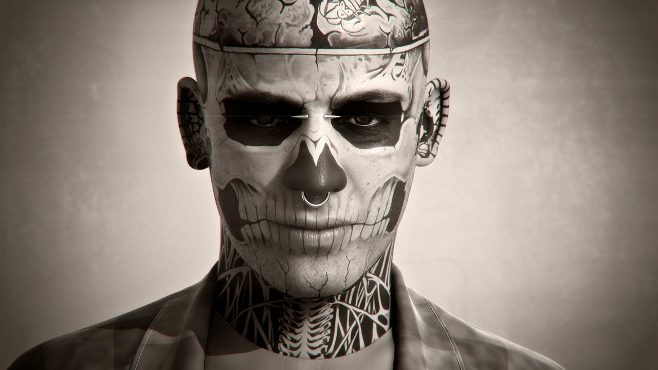 Zombie Boy   Autoportrait