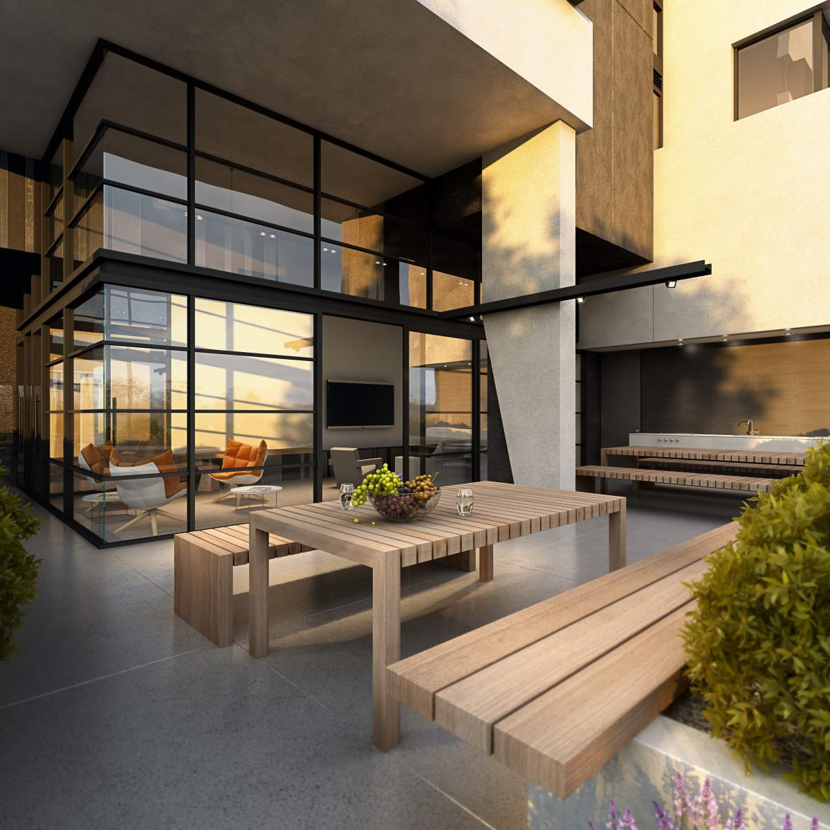 Barkly St Resident Lounge