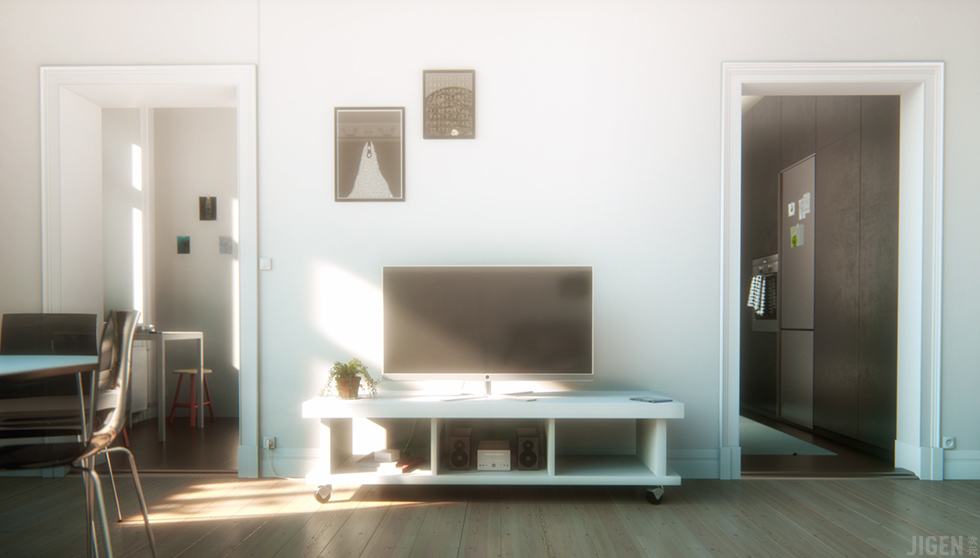 Swedish Apartment - Salon