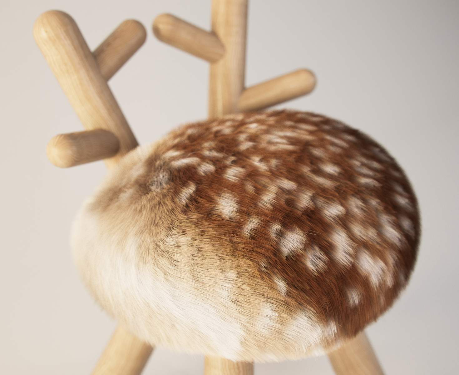 Bambi Chair by Takeshi Sawa for Kamina & C