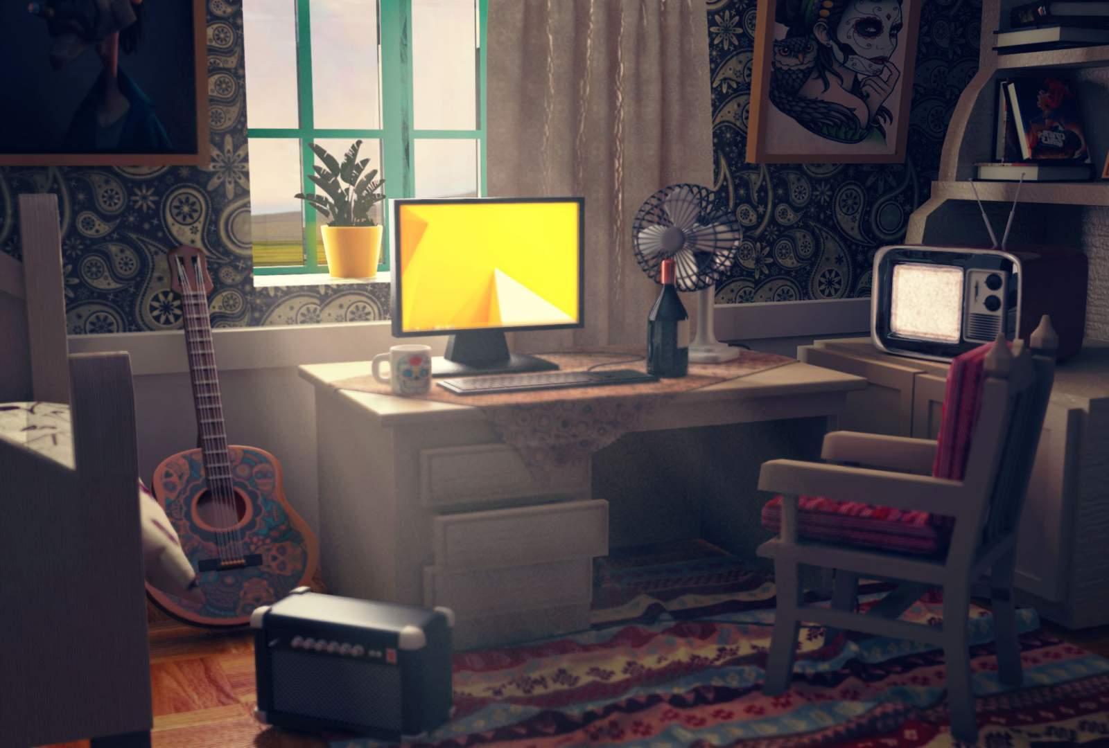 ma petit chambre