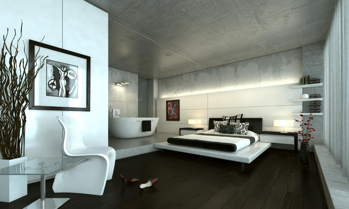 Chambre parentale work in progress v ray tutorial forum for Exemple chambre parentale