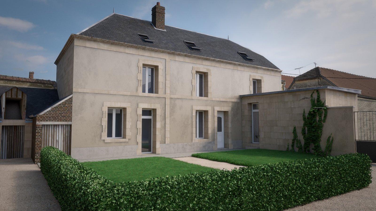 Rénovation et aménagement d'une habitation