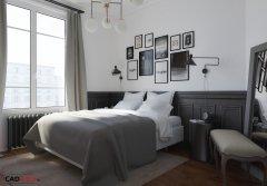Rénovation et aménagement d'une chambre